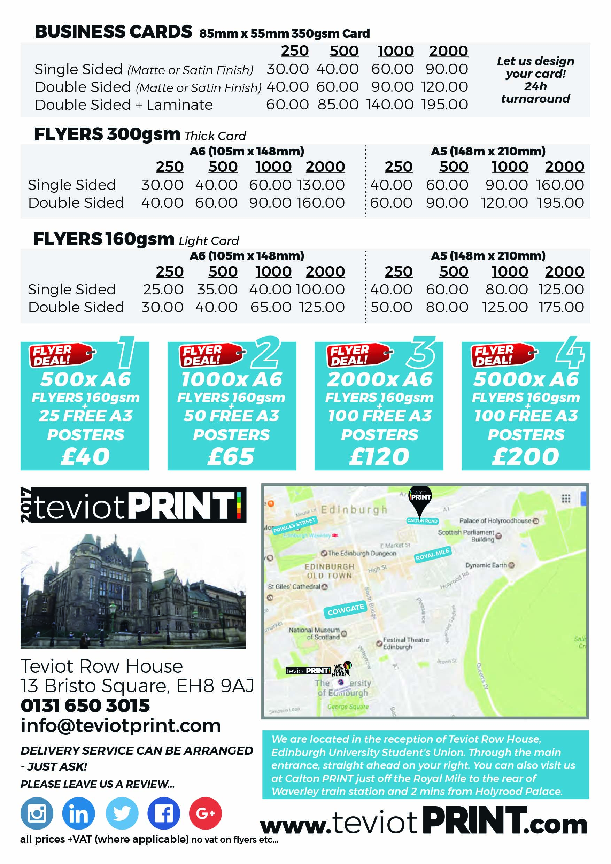 Teviot print shop teviot print shop price list colourmoves